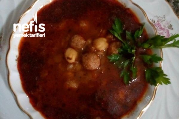 Yuvalama Köfte Çorbası (Sulu Köfte) Tarifi