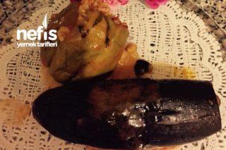Fırında Biber Patlıcan Dolması(Çok Lezzetli) Tarifi