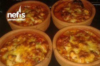 Güveçte Tavuklu Patlıcan Kebabı Tarifi