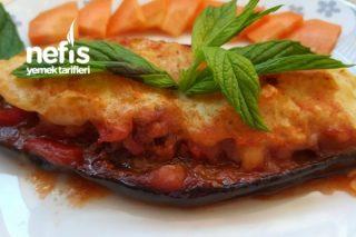 Püreli Kayık Patlıcan Tarifi