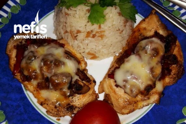 Mantarlı Tavuk Bonfile (Süper Bir Lezzet Mutlaka Deneyin )
