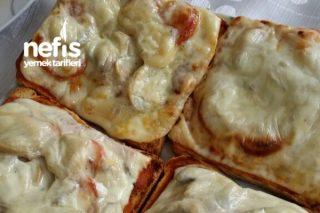 Pizza Tost Tarifi