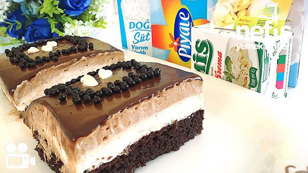 Nutellalı Islak Pasta (Şahane) Tarifi Videosu