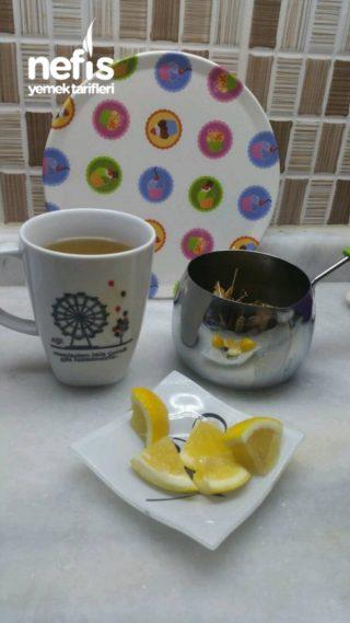 Ballı Limonlu Ihlamur Çayı