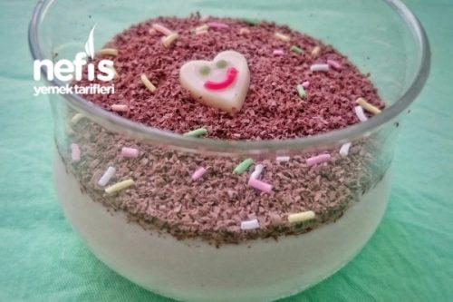 Labneli Muhallebili Sakızlı Pasta Videosu