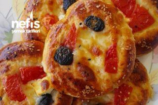 Mini Pizzacıklar Tarifi