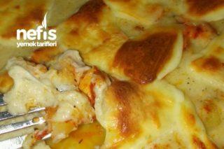 Beşamel Soslu Fırında Patates Tavuk Tarifi