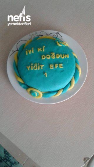 Oğlumun Doğum Günü Pastası