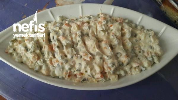 Rus Salatası Tarifi - sude smsk - Nefis Yemek Tarifleri