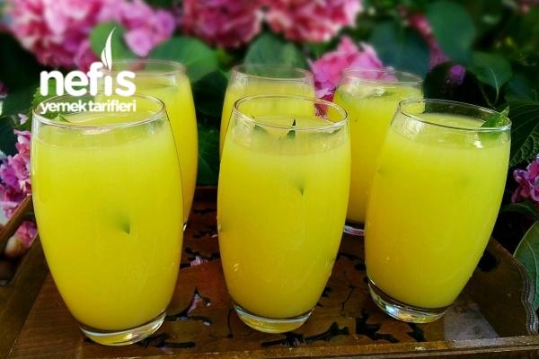 Buz Gibi Limonata Yapımı (Dondurucudan) Tarifi