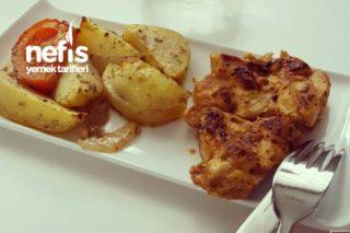 Fırında Nefis Patatesli Tavuk Tarifi