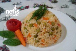 Leziz Garnitürlü Pirinç Pilavı Tarifi