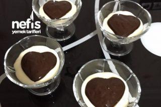 Bitter Çikolatalı Muhallebi Tarifi