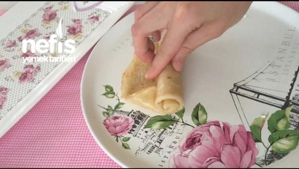 Peynirli Avcı Böreği(krep Böreği)