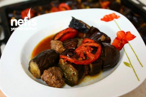 Fırında Patlıcan Kebabı Videosu