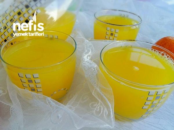 Buz Gibi Portakal Suyu (Dondurucudan)