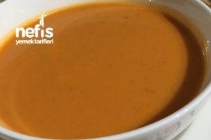 Kışlık Konserveden Domates Çorbası Tarifi