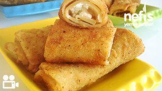 Peynirli Avcı Böreği (Krep Böreği) Tarifi Videosu