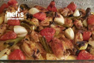 Fırında Yoğurt Soslu Tavuklu Patates ( Mangal Tadında ) Tarifi