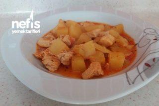 Patatesli Tavuk Göğsü Tarifi