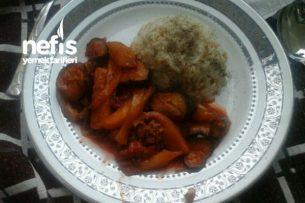 Kıymalı Karışık Musakka Ve Pirinç Pilavı Tarifi