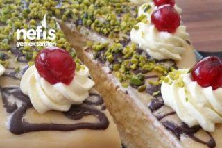 Badem Ezmeli Pasta (Marzipan Torte) Tarifi