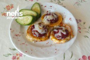 Nefis Sucuklu Patates (Kahvaltılık) Tarifi
