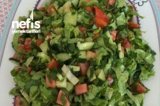 Yaz Salatam( Bol Yeşillikli) Tarifi