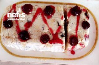 Halley Ve Meyveli Pasta Tarifi