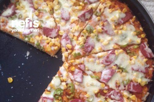 Süper Kolay Ve Lezzetli Pizzam Tarifi