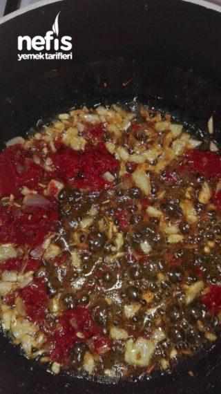 Zeytinyağlı Kuru Bamya Yemeği