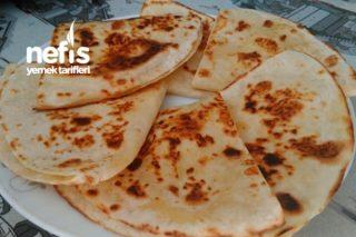 Tortilla Ekmeği İle Peynirli Gözleme Tarifi