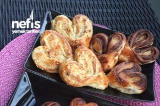 Nutella Ve Tahinli Çörekler (Resim Aşamalı) Tarifi