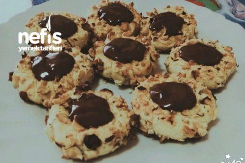 Çikolata Dolgulu Fındıklı Kurabiye Tarifi