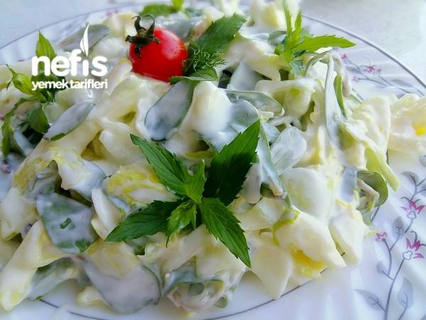 Göbekli Semizotu Salatası