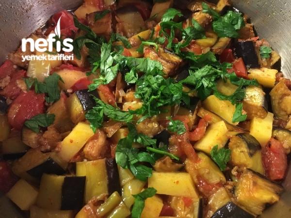 Kıymalı Patlıcan Tava (nefis Yaz Yemeği)