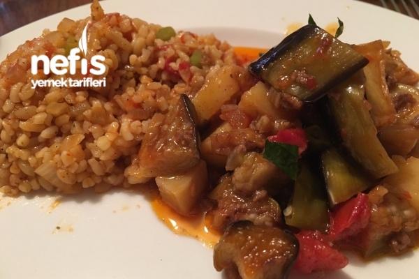 Kıymalı Patlıcan Tava (Nefis Yaz Yemeği) Tarifi