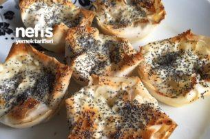 Muffin Kalıbında, Leziz Ve Az Malzemeli Börek Tarifi