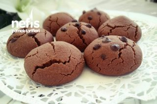 Pudingli Muhteşem Kurabiye (Çikolatalı) Tarifi
