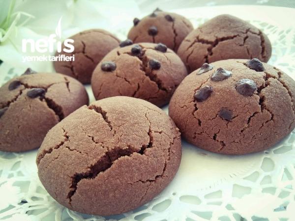 Pudingli Muhteşem Kurabiye (Çikolatalı)