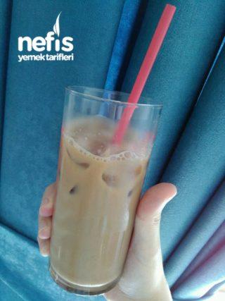 Vegan İcelatte Soğuk Kahve (soya Sütü)