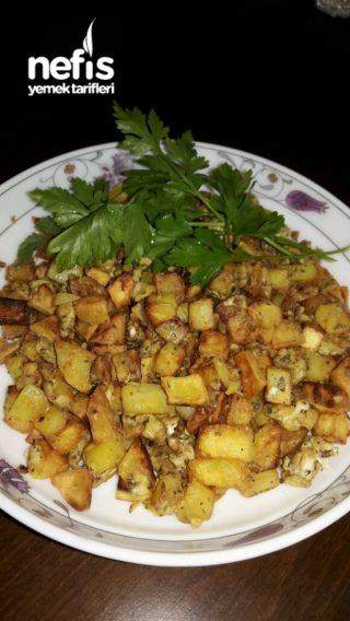 Yumurtalı cips tadında patates  (kahvaltilik Misssss )