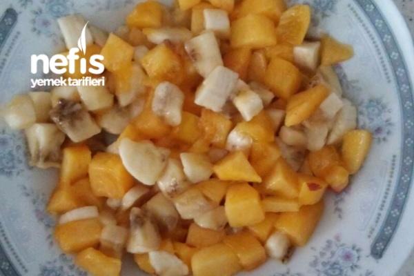 Bebeğimin Meyve Salatası( 8) Tarifi