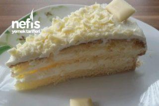 Beyaz Çikolatalı Limonlu Pasta Tarifi