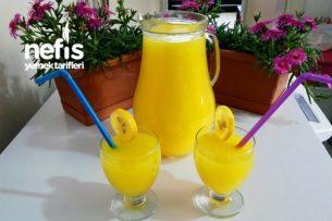 Buz Gibi Limonata Tarifi (2 Portakal 1 Limon İle)