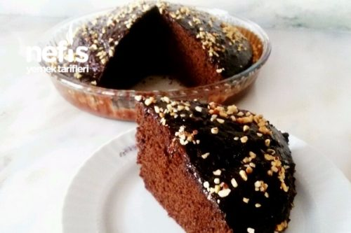 Çikolata Soslu Nescafeli Kek Tarifi Videosu