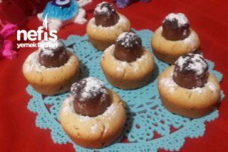 İncirli Çikolatalı Muffin Kurabiye Tarifi