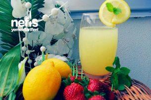 Buz Gibi Pratik Limonata Tarifi