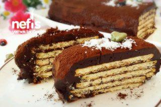 Çikolatalı Bisküvili Soğuk Pasta Tarifi