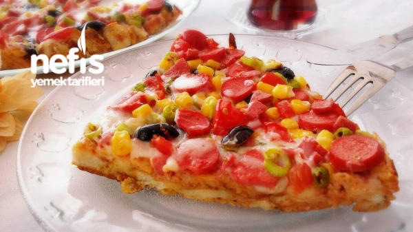Bayat Ekmek Pizzası(gerçeği Gibi)